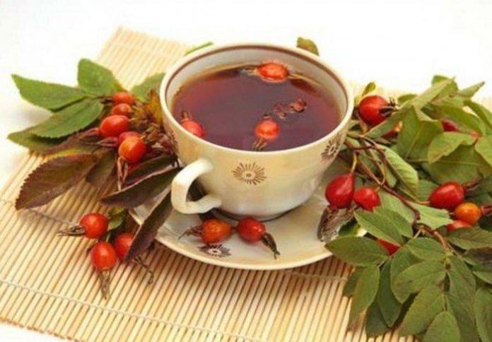 Soğuk algınlığı için kuşburnu çayı