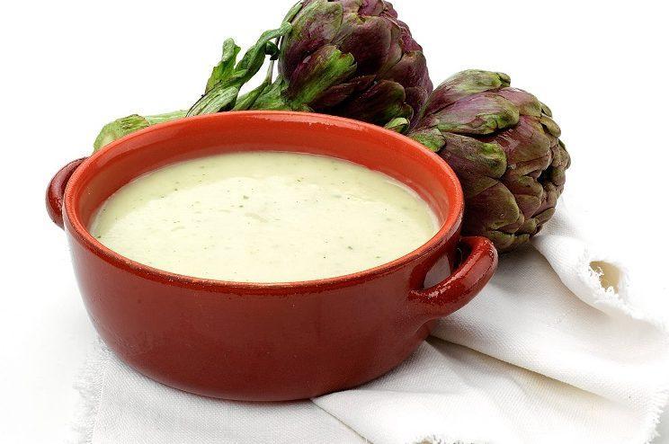 Enginar çorbası 1 yaş ve sonrası çocuklar için