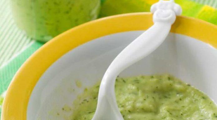 8 aylık bebekler için kıymalı sebzeli püre