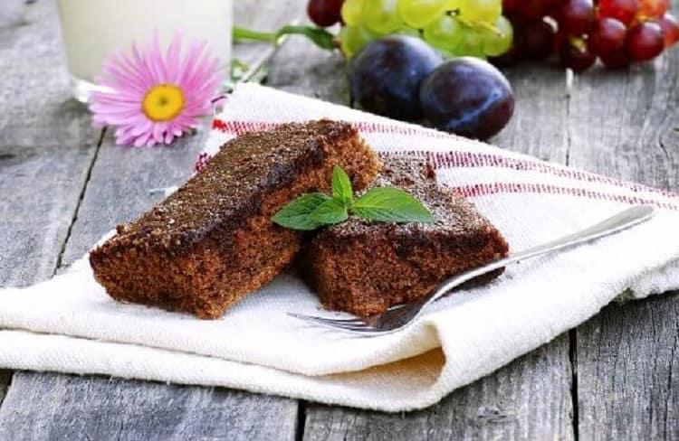 Kakaolu glütensiz kek