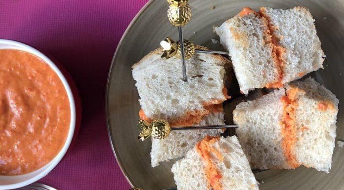 Kahvaltılık sandviç 1 yaş sonrası çocuklar ve beslenme çantaları için