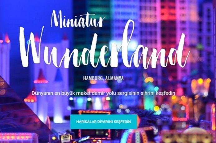 Çocuklar Google ile Miniatur Wunderland'ı keşfediyor