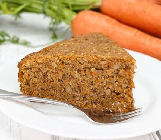 Vegan havuçlu kek 1 yaş ve üzeri çocuklar için