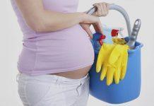 Hamileyken kullandığınız temizlik malzemelerine dikkat!