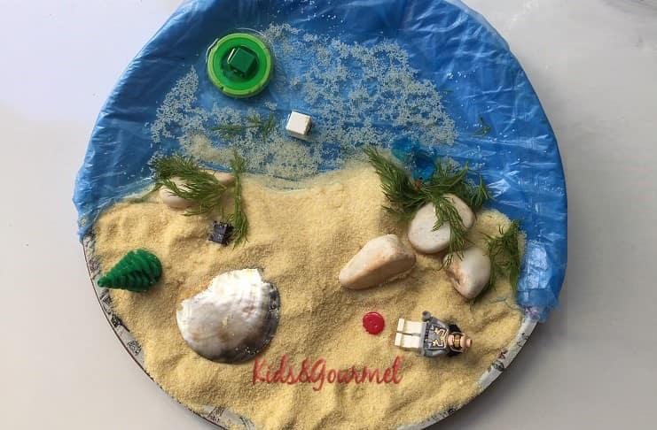 3 yaş çocuk etkinliği: Evde tropikal ada keyfi