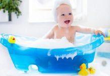 Bebeğinizin banyo zamanı