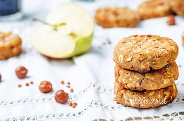 Yulaflı elmalı kurabiye 1 yaş sonrası