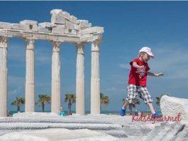 Antalya'da çocuklarla gezilebilecek yerler