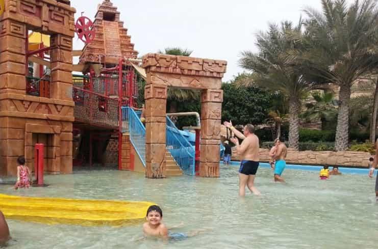 Dubai'de çocuklu tatil