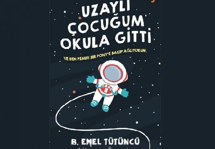 """Ebeveynlik kitabı """"Uzaylı Çocuğum Okula Gitti: Ve Ben Pembe Bir Pony' ye Bakıp Ağlıyorum"""""""