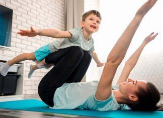 Sağlığınız için çocuğunuzla egzersiz yapın!