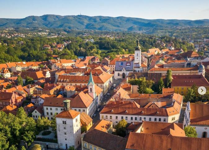 Hırvatistan'da tatil - Zagreb