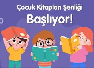 Çocuk Kitapları Şenliği başlıyor!