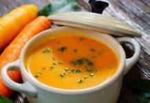 Sebze çorbası 5 aylık bebekler için