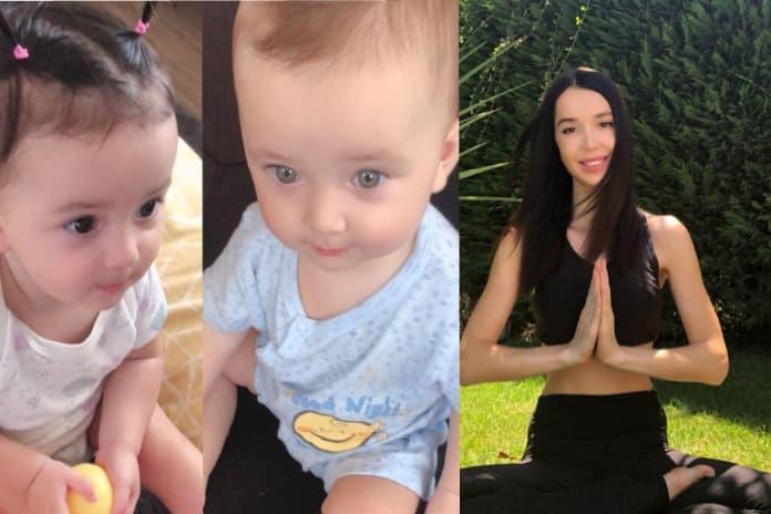 Model Elif Ece Uzun, ikiz bebek annesi olmanın zorluklarını anlattı