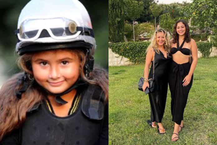 Şarkıcı Pınar Aylin'in kızı Maya güzelliğiyle büyüledi!
