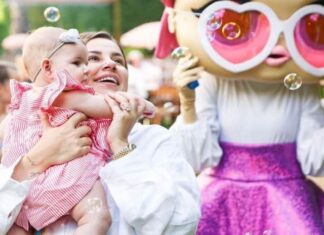 Merve Özbey'in kızı sosyal medyada ilgi odağı oldu